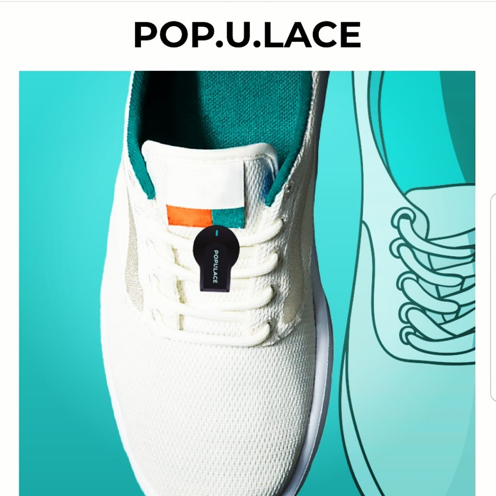 Pop.U.Lace tracker for your loved one