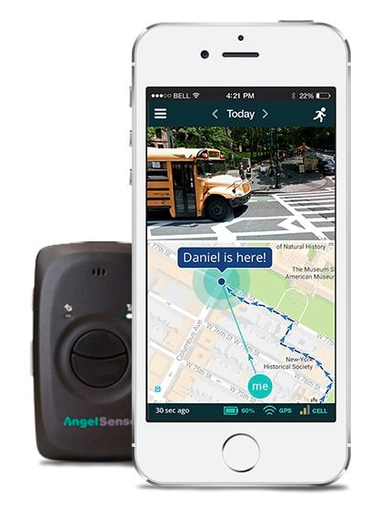 AngelSense has features that keep your child safe