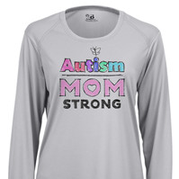Autism Mom Strong 2 Long Sleeve