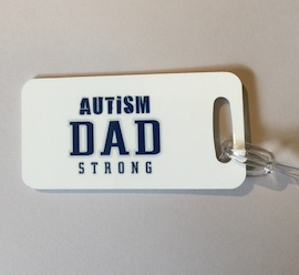 Autism Dad Bag Tag