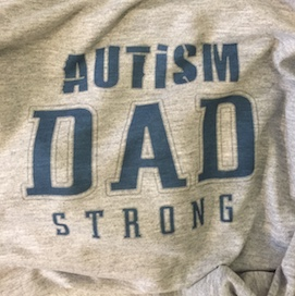 Autism Dad Strong Long Sleeve XL