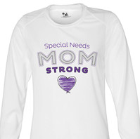 Special Needs Mom Strong 2 Long Sleeve