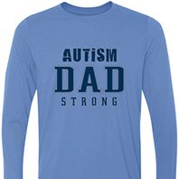Autism Dad Strong Long Sleeve 1